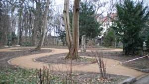 Friedhofsareal