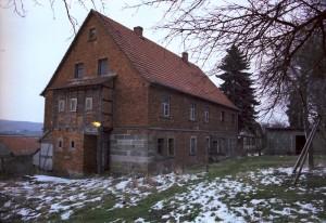 Haupthaus Gartenansicht 1986