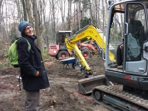 Endlich – Die Bagger vom Gärtnerhof Berlin kommen