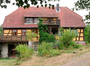 Fachwerkhaus Hofansicht 2003