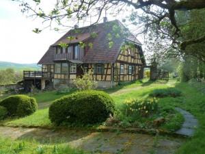 """Fachwerkhaus mit dem """"neuen Dach"""" (2010)"""