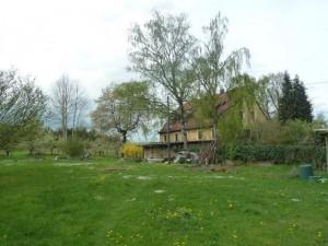 Gartenansicht mit Haupthaus